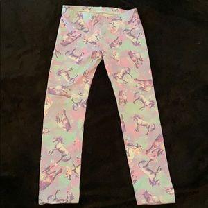 Circo unicorn toddler leggings EUC 4T pink